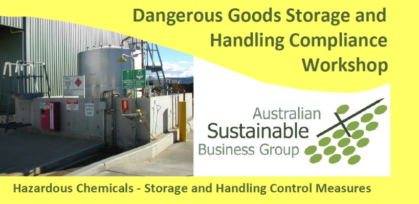 Australian Sustainable Business Group Dangerous Goods