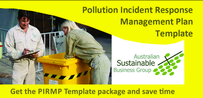 Australian Sustainable Business Group - NSW - PIRMP Template